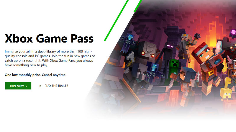 Console War Xbox Game Pass