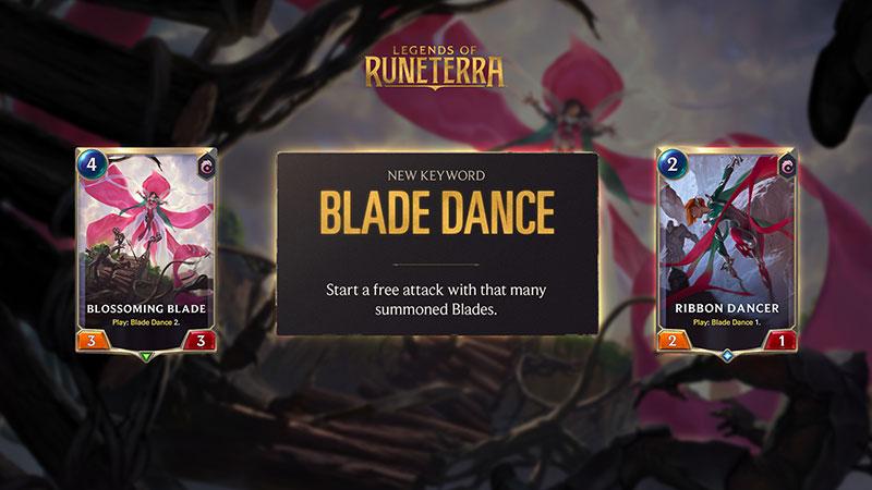 Legends of Runeterra: Guardians of the Ancient Blade Dance