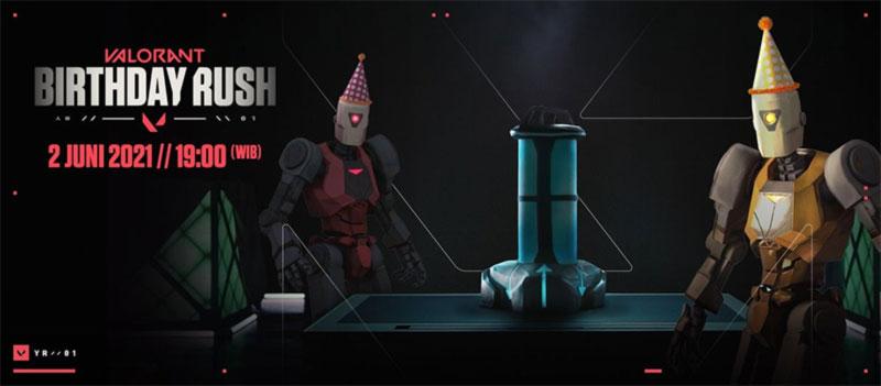 Valorant Birthday Rush stream